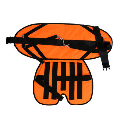 EVA Padded Stand Up Fishing Harness Fighting Waist Support Belt with Cushion