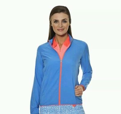 ADIDAS - Womens Full Zip Golf Jacket. Size:Small BNWT
