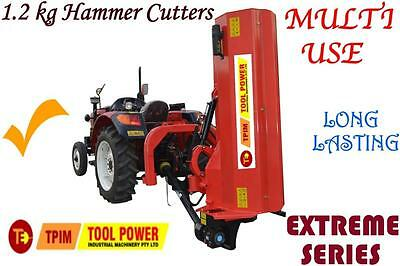 Flail Mower, TOOL POWER, 656kg extra heavy duty type with 90 degree tilt +++++++