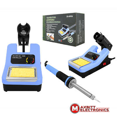 Soldering Station Including Soldering Iron Temperature Control Stand /2428