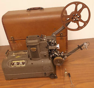 1946 Ampro Amprosound  Century 10 Projector  W/Mathcing  Speaker & Instructions