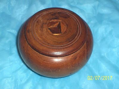 Small Wooden Trinket Box With Inlay Top Souvenir Of St. Petersburg Florida