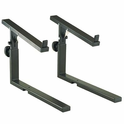K&M 18813 Stacker Keyboard Stand- Black