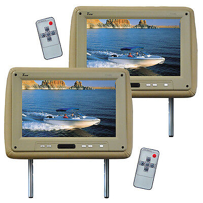 "Tview MONITOR 11.2"" WIDESCREEN TAN IN HEADREST,TVIEW,REMOTE T110PLTAN"