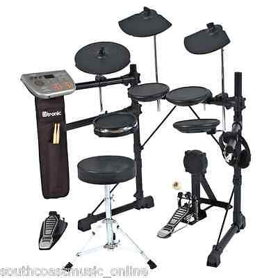 ELECTRONIC DIGITAL DRUM KIT D-TRONIC Q7 DRUMKIT w USB +ACCESSORIES w DRUM STICKS