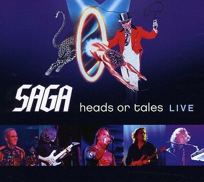 Saga - Heads or Tales: Live [New CD] Germany - Import