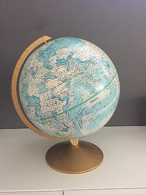 Vintage World Globe - Great Condition For Age