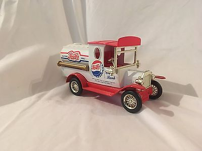 Pepsi Cola Delivery Truck Coin Bank