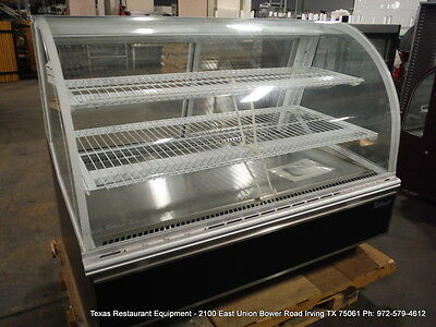 "Turbo Air TB-5  59"" Dry Curved Glass Bakery Display Show Case"