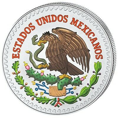 Rare LIBERTAD   Colorized 2013 Mexico 1/2 oz Silver coin