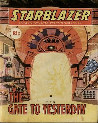 The Gate To Yesterday,starblazer Space Fiction Adventure In Pictures,no.95,1983