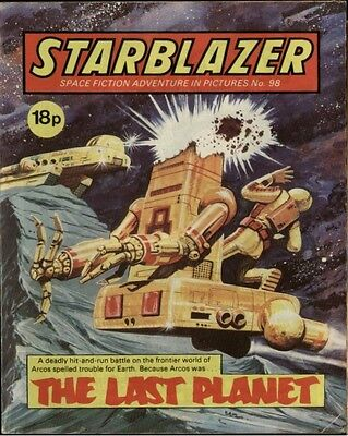 The Last Planet,starblazer Space Fiction Adventure In Pictures,no.98,1983