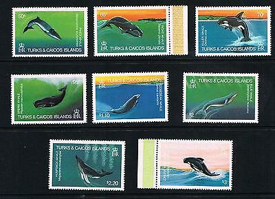 turks&caicos islands 1983 whales u/m set