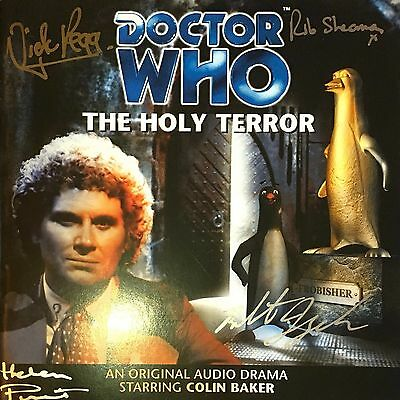 Doctor Who - The Holly Terror - CD Audio Book - 4 Signatures / Autographs  [CH]
