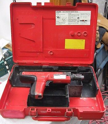 Hilti DX 35 Powder Actuated Tool Nail Gun with Case