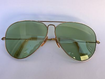 Vintage Ray Ban Aviator Sunglasses  B&L 1/10 12K GF Gold Filled Superb Condition