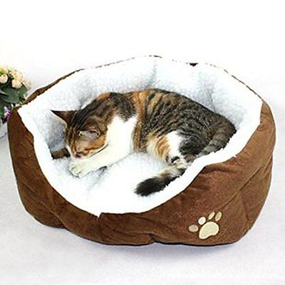 Panier Corbeille Coussin Lit amovible Pour Chien Chat Animaux NEUF