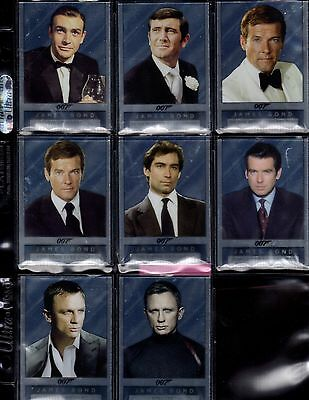 James Bond Archives Final Edition Double-sided Mirror 8 card set