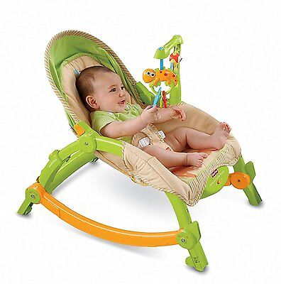 NewBorn Toddler Portable Rocker Infant Seat Baby Bouncer High Quality Durable