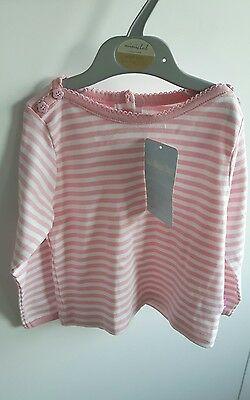 girls top jojomaman bebe age 12-18 months