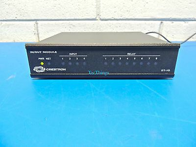 Crestron IN/OUT ST-IO 8 Relay and 4 Digital/Analog Input Module