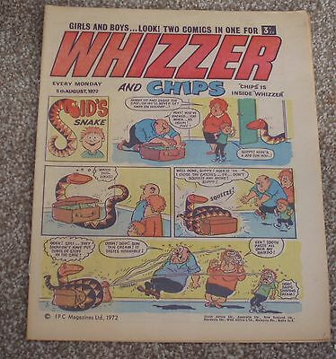 Whizzer And Chips Comic 1972