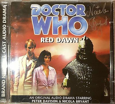 Doctor Who - Red Dawn 8 - CD Audio Book - Singed By Nicola Bryant [CH]