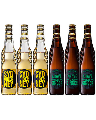 Sydney Brewery Craft Cider Mixed Case 330mL