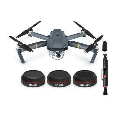 Freewell Gear Hybrid 3-Filter Pack (4K-Series) für DJI Mavic