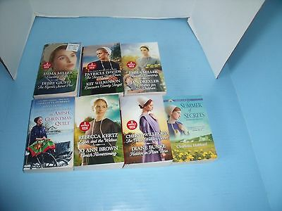 Lot Of 7 Love Inspired Amish Romance*hannah's Courtship*courting Ruth