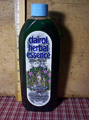 vintage 1981 clairol herbal essence shampoo 15 oz