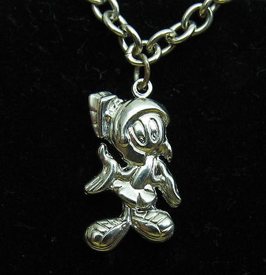 MARVIN THE MARTIAN Charm Bracelet LOONEY TUNES WARNER BROS WB Six Flags NEW 9466