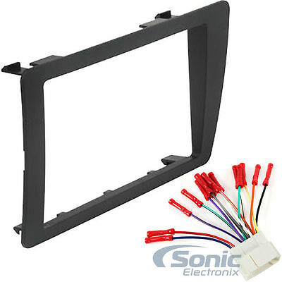 Scosche Double Din Aftermarket Car Stereo Install Kit for 2001-05 Honda Civic