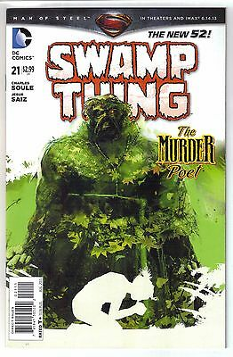 DC Comics! Swamp Thing! Issue 21! New 52!