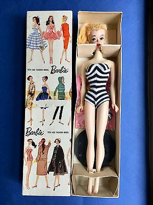 Vintage Barbie #3 Blond All original in Box and Complete GORGEOUS