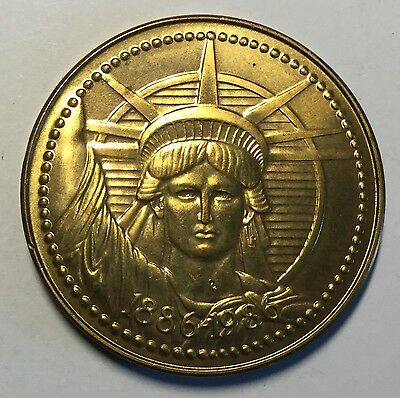 Statue Of Liberty Restoration Centennial Nestle Company Coin Medal