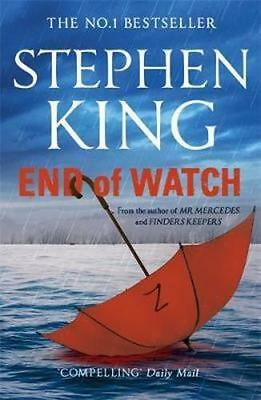 NEW End of Watch By Stephen King Paperback Free Shipping