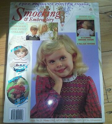 Australian Smocking and Embroidery Magazine - Issue No 21