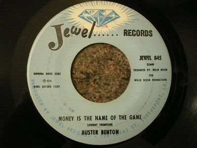 Buster Benton Money Is The Name Of The Games / Good To The Last Drop Jewel Re