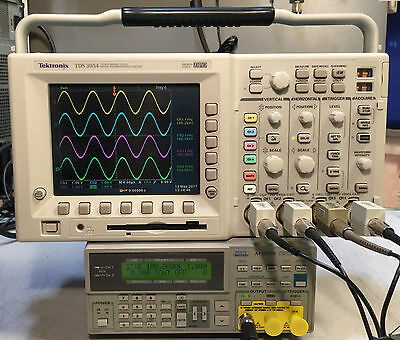 Tektronix TDS3054 4 CH DPO Oscilloscope 500MHz 5GSa/s OPTIONS