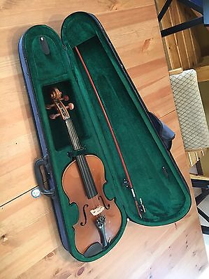 Violin Used with Case