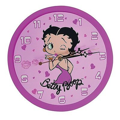 NEW Collectible Winking Sexy Betty Boop Wall Clock Classic Pinup