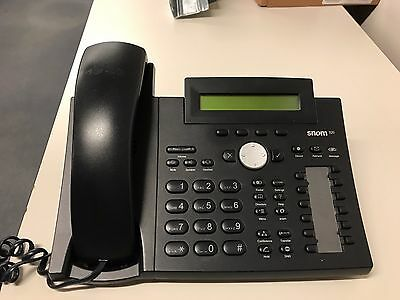 Snom 320 SIP VoIP Business Telephone Handset PoE