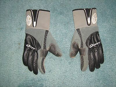 3 Pairs of Qranc cycling gloves, Men's Size Large