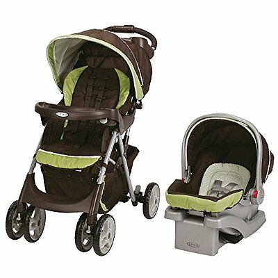 NEW Graco Comfy Cruiser Travel System Click Connect Baby GO GREEN SnugRide 30