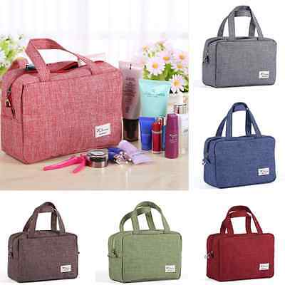 Travel Cosmetic Makeup Bag Toiletry Case Wash Organizer Storage Hanging Pouch