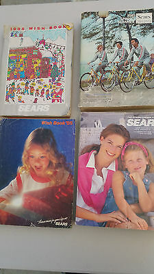 Sears 1981, 1988, 1985, 1993 Wish Book Toys Catalog Lot of 4 spring summer