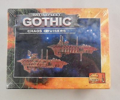 Warhammer Battlefleet Gothic BFG CHAOS CRUISERS x2 SEALED BOX