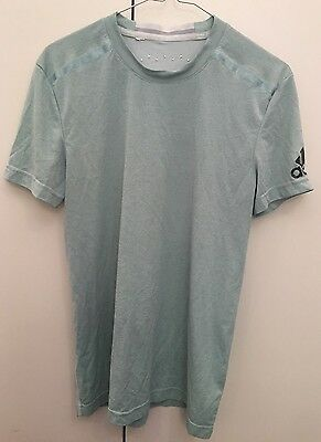 Adidas Mens T-Shirt Gym Top Size Small Short Sleeve