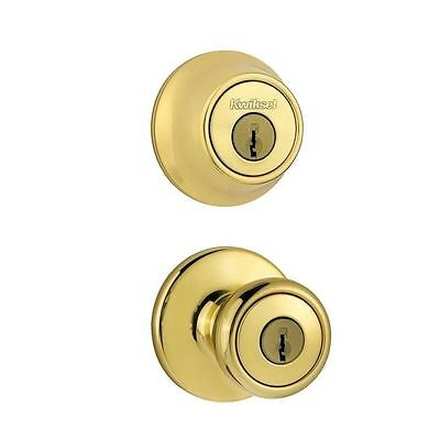 Kwikset Tylo Entry Knob and Single Cylinder Deadbolt Combo Pack